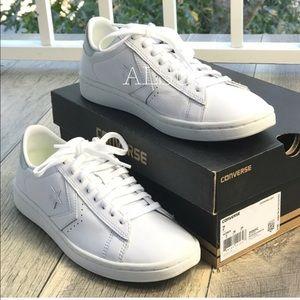 NWT Converse PL LP OX White Silver WMNS AUTHENTIC